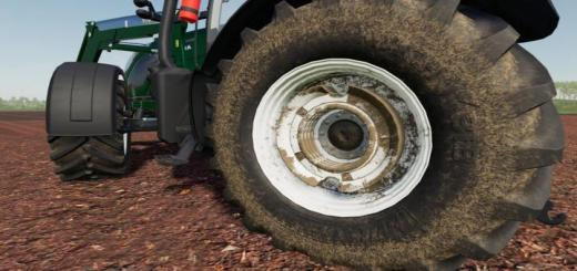 Photo of FS19 – Valtra Wheel Weights (Prefab) V1