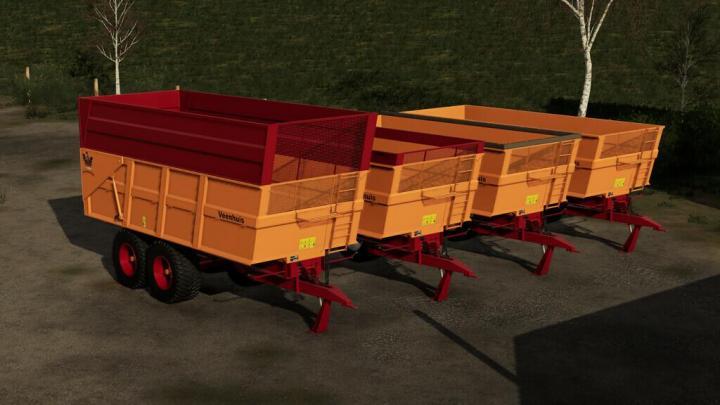 FS19 - Veenhuis Jvk 16000 Trailer V1.1