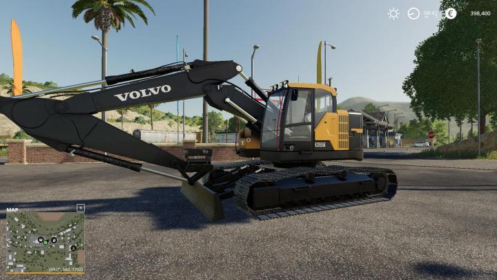 FS19 - Volvo Ecr355E V1