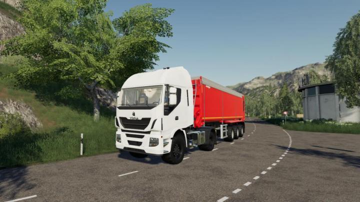 FS19 - Vstruk Hy-400 Truck V1