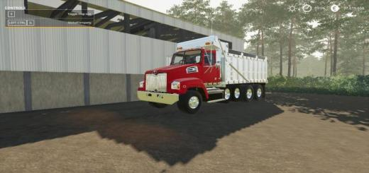 Photo of FS19 – Western Star 4700Sf Dump Truck V1.0.0.2