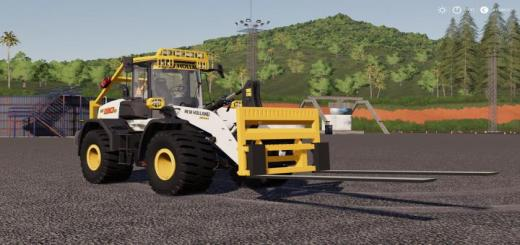 Photo of FS19 – Wheel Loader Long Forks V1.0.1