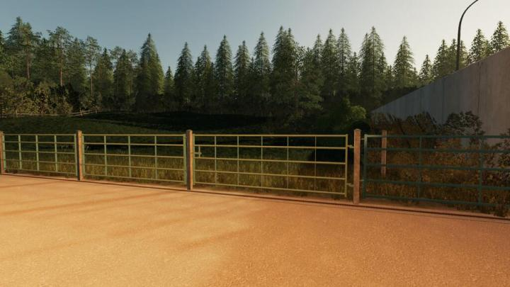 FS19 - Willow Fence Package (Prefab) V1