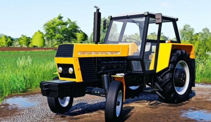 FS19 - Zetor 12011 Cz Zluty V1