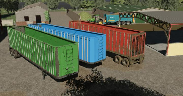 FS19 - 2020 Dorsey Chip Trailer V1
