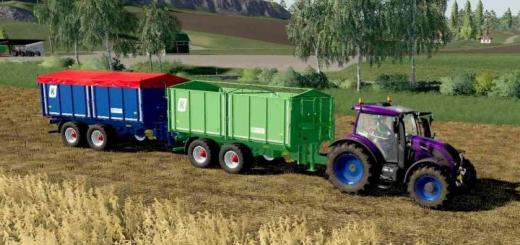Photo of FS19 – Agroliner Tkd 302 Used Trailer V1
