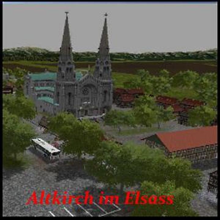 FS19 - Altkirch Im Elsass Map V1