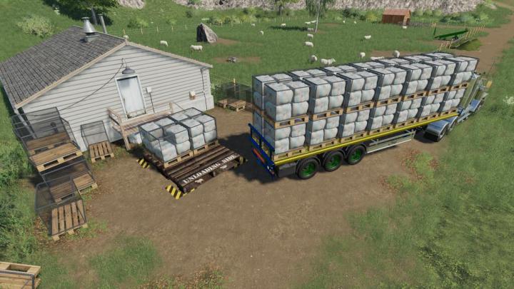 FS19 - Animal Goods Transport V1