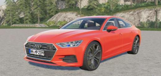 Photo of FS19 – Audi A7 Sportback Quattro 2018 V2