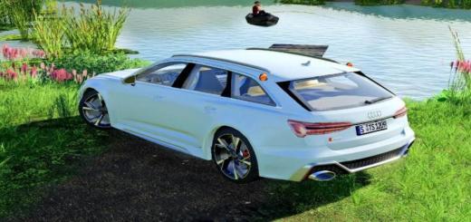 Photo of FS19 – Audi Rs6 Avant 2020 V1