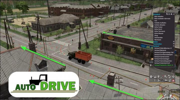FS19 - Autodrive Courses For The Sosnovka Map V1