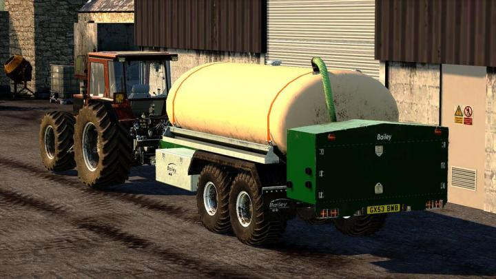 FS19 - Bailey Liquid Bowser V1