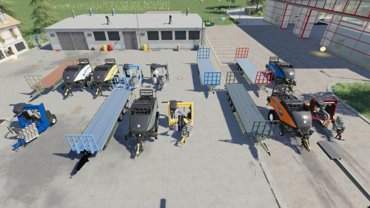 FS19 - Baleros Baling Machinery Pack V1