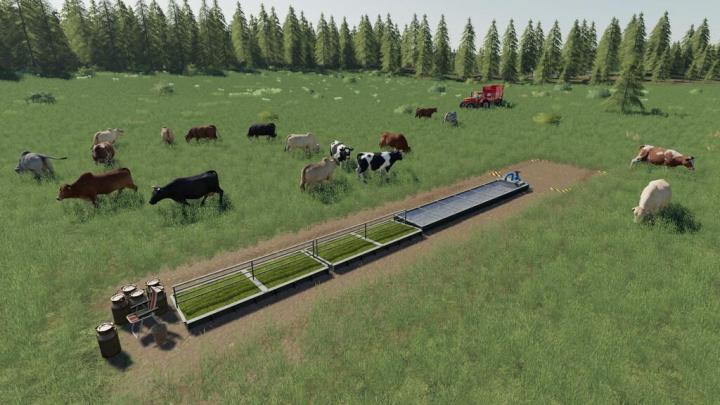 FS19 - Basic Pastures Pack V1