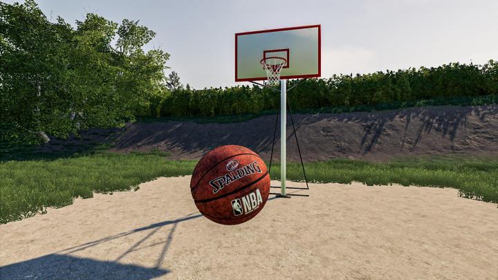 FS19 - Basket Ball Hoop V1