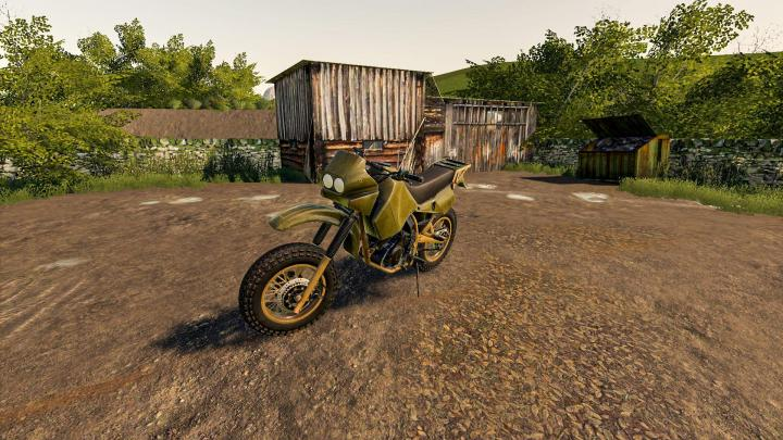 FS19 - Battlefield Motocross Dirt Bike V1