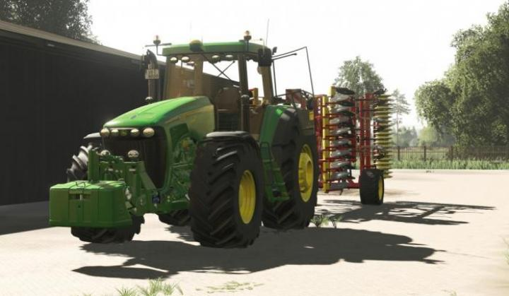 FS19 - Better Sounds On John Deere 8X20 And 8X30