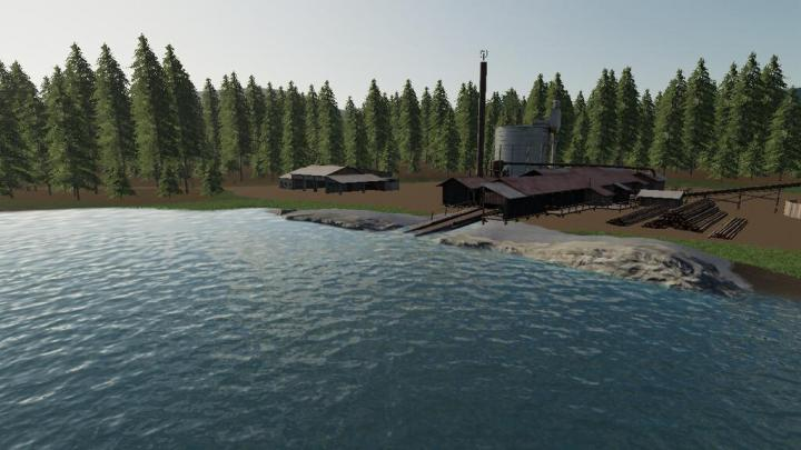 FS19 - Blue Mountain Valley Map V1