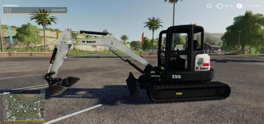 Photo of FS19 – Bobcat E55 V1