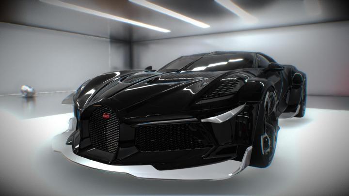 FS19 - Bugatti La Voiture Noire V1