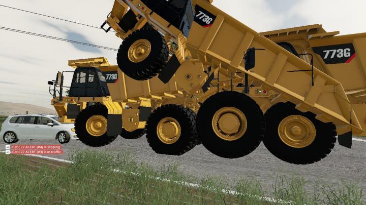 FS19 - Cat 773G V1