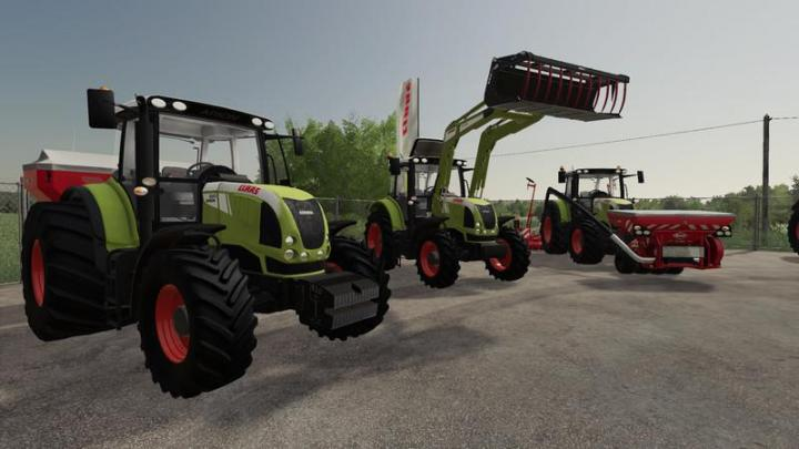FS19 - Claas Arion 600 (610, 620, 630, 640) V1.1.1.9