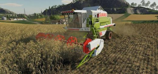 Photo of FS19 – Claas Dominator 108 Sl Maxi V1
