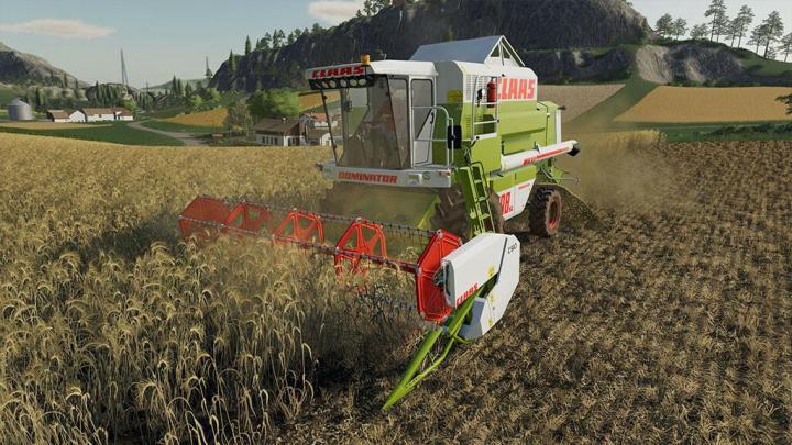 FS19 - Claas Dominator 108 Sl Maxi V1