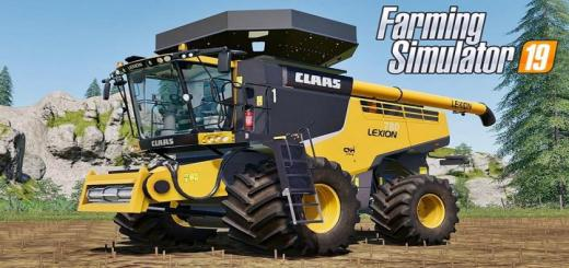 Photo of FS19 – Claas Lexion 780 Us V1