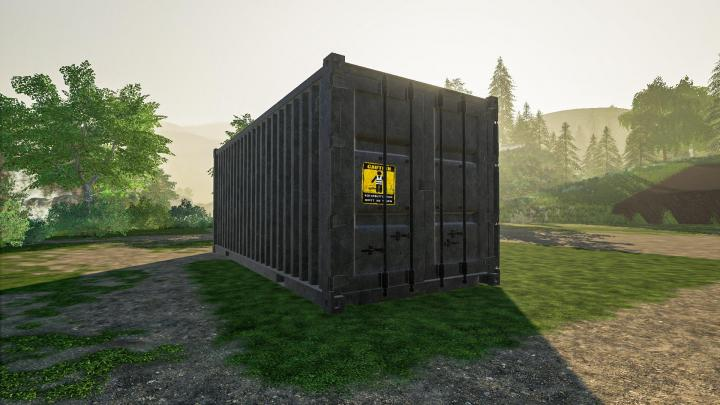 FS19 - Container Shed V1