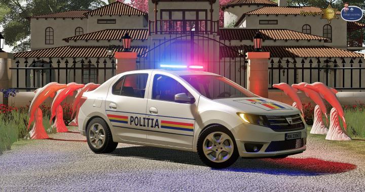 FS19 - Dacia Logan Politia 2019 V1