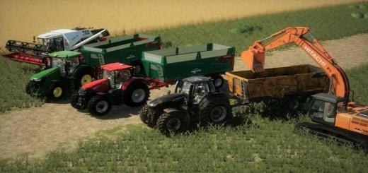 Photo of FS19 – Deguillaume Feline 18.2 Trailer V1.2