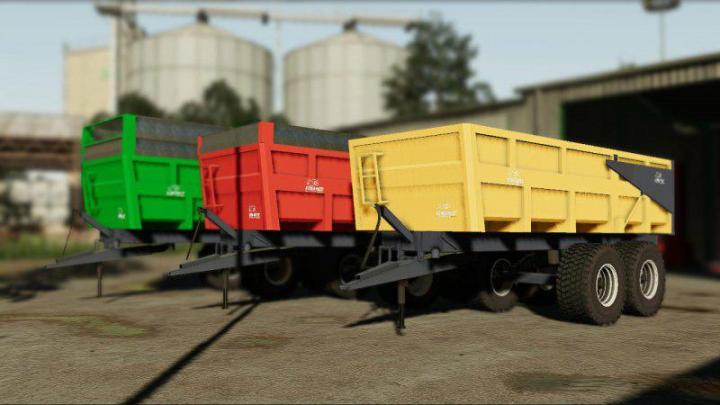 FS19 - Demarest 16T Trailer V1
