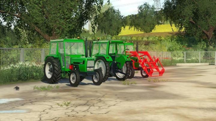 FS19 - Deutz D6207 Tractor V1