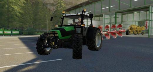 Photo of FS19 – Deutz Fahr Agrofarm 430 Tractor V1