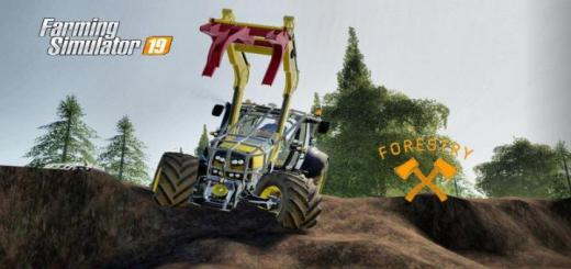 Photo of FS19 – Deutz Ttv Forestry Tractor V2