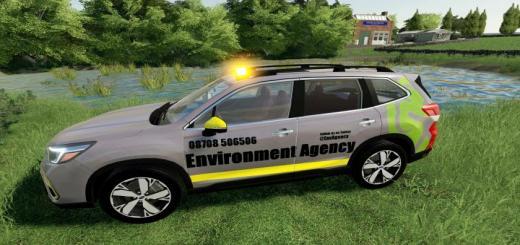 Photo of FS19 – Environment Agency Car V1