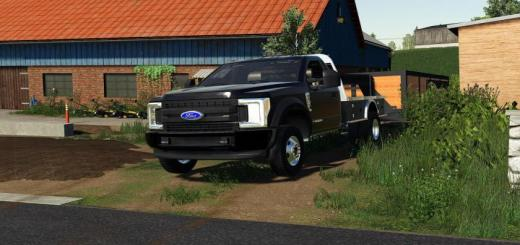 Photo of FS19 – Exp19 2019 Ford F-550 Flatbed V1