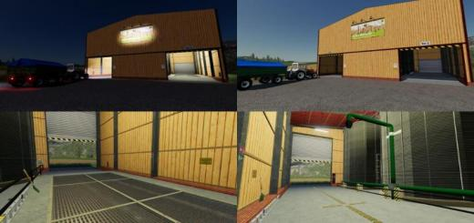 Photo of FS19 – Farm Hall Silo V1