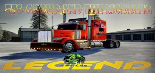 Photo of FS19 – Fedex American Road Truck V2
