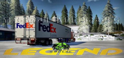 Photo of FS19 – Fedex Trailer V2