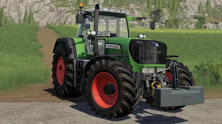 FS19 - Fendt 900 Tms Vario V2