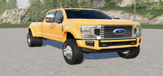Photo of FS19 – Ford F-450 Super Duty King Ranch Crew Cab 2020