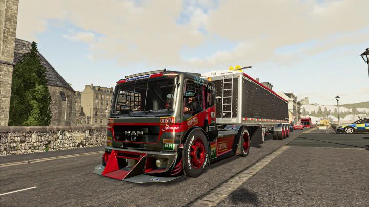 FS19 - Formula Man Truck V1