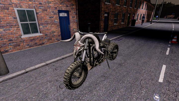 FS19 -  Fury Road Motorcycle V1