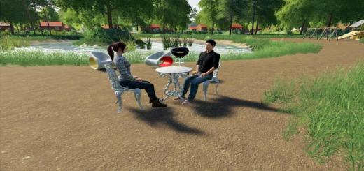 Photo of FS19 – Garden Furniture Set V1