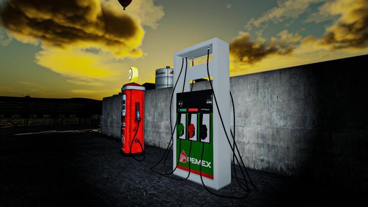 FS19 - Gas Station Pack V1