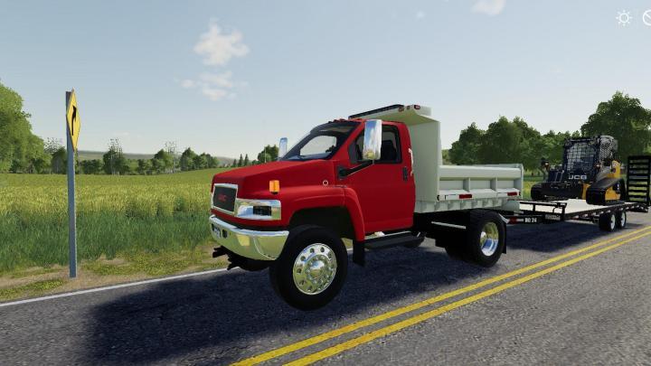 FS19 - Gmc Topkick Dump Truck V1