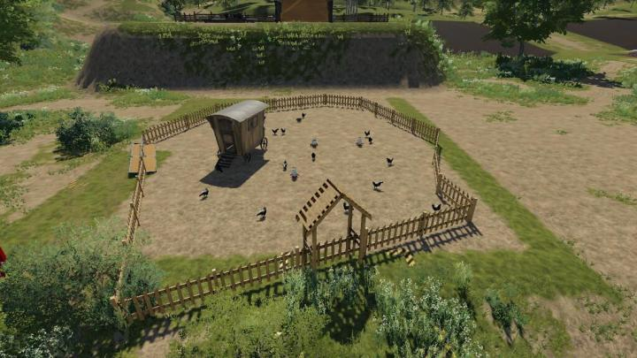 FS19 - Goldcrest Valley Chicken Pen V1.2