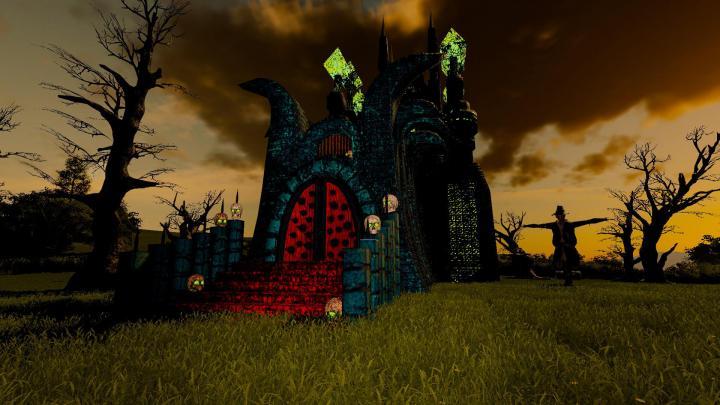 FS19 - Halloween Hunted House V1